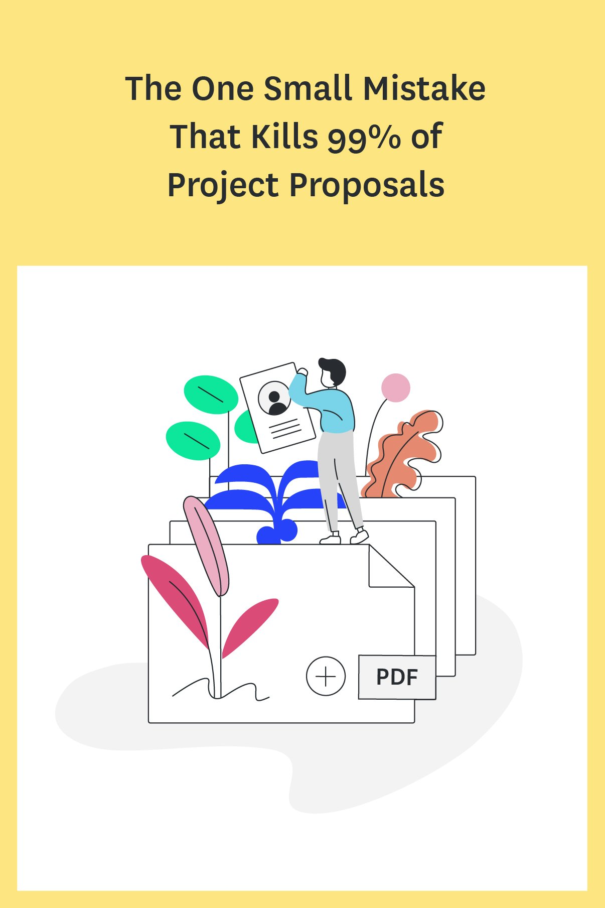 If your project proposals are flopping, you need a better strategy. Learn the biggest project proposal mistake that designers and agencies make and find out how to write project proposals that land you the job every time.