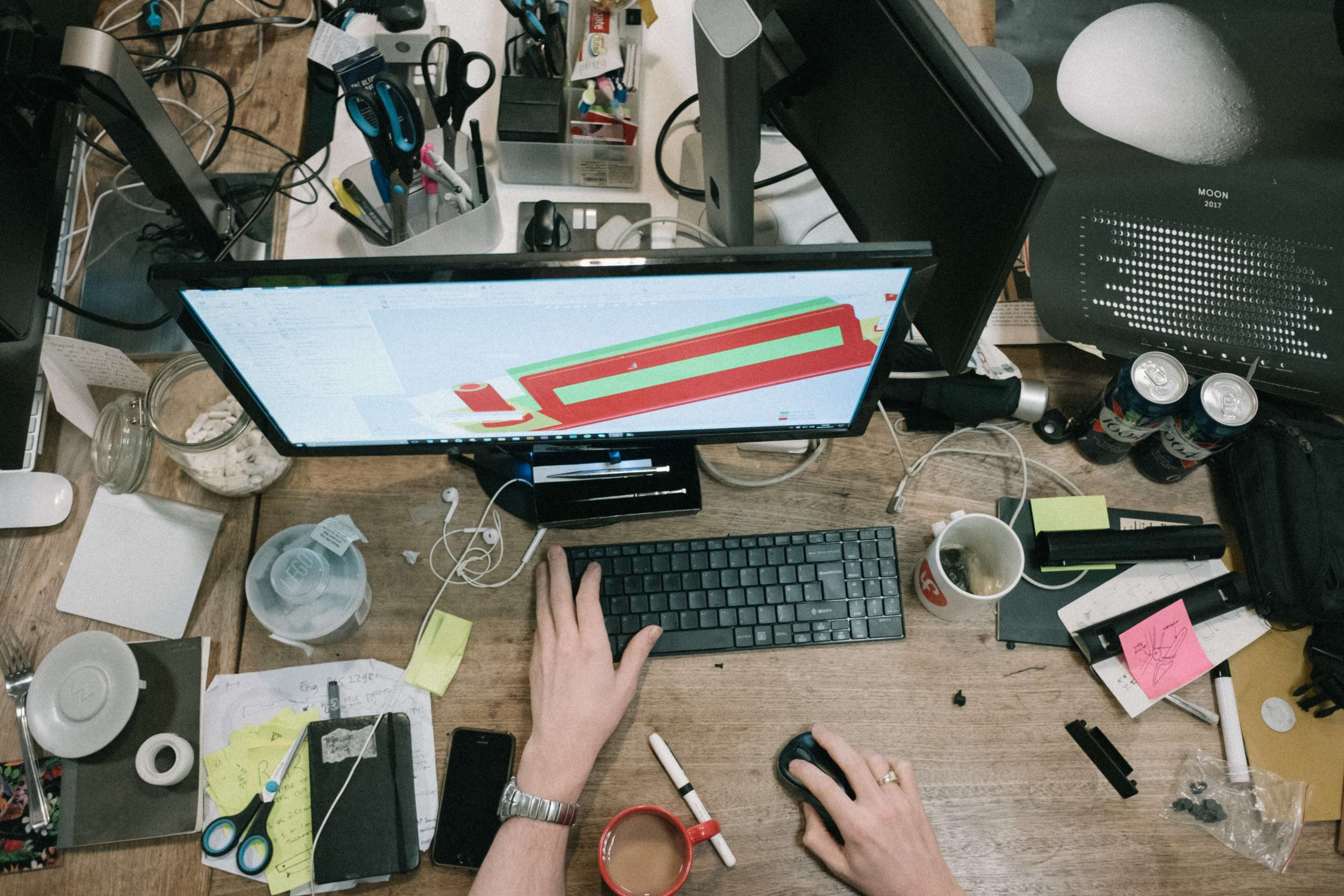Members of your design team can stay productive by avoiding multitasking.