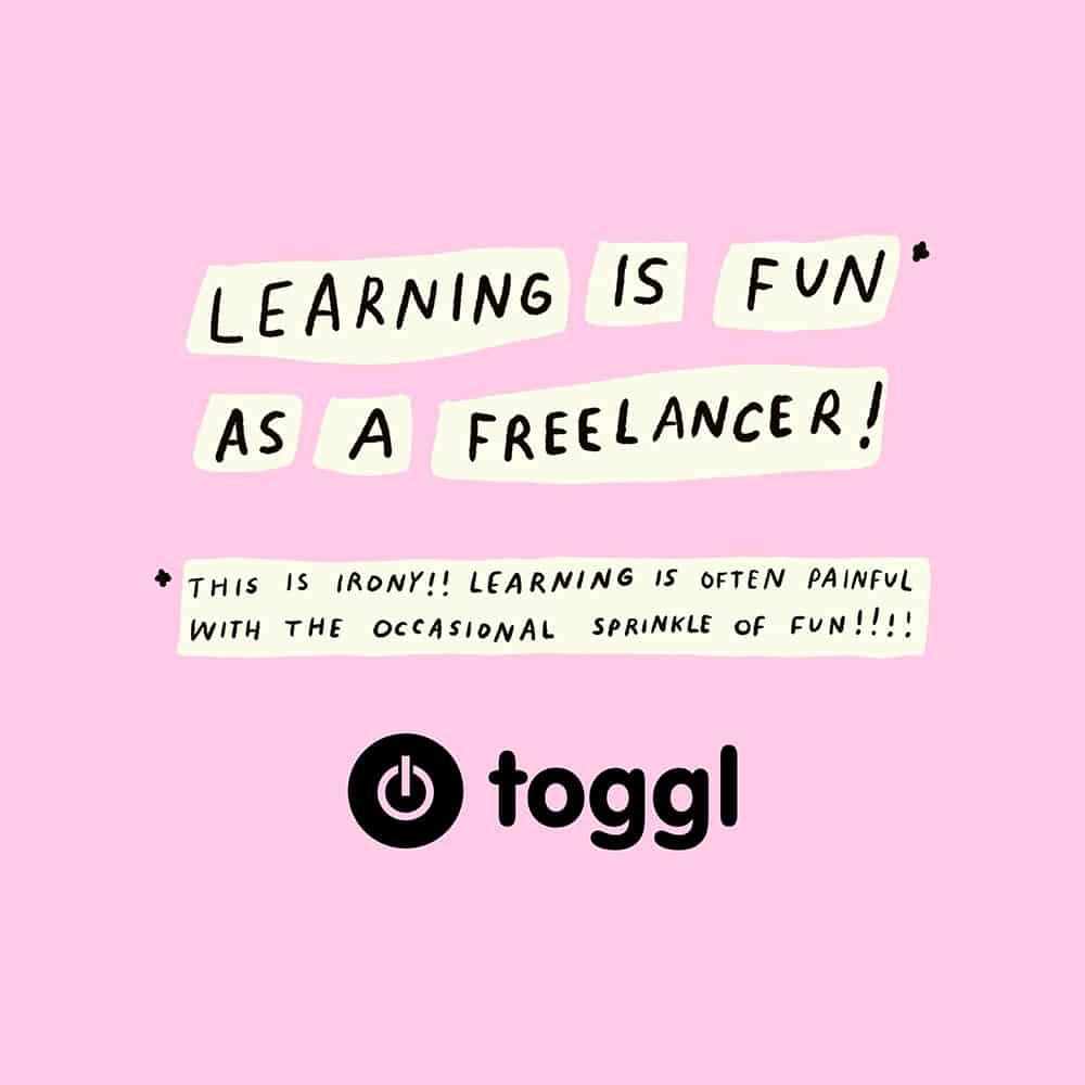 Small Kristen Barnhart Comic 2 Slide 1 Learning Is Fun As A Freelancer 1