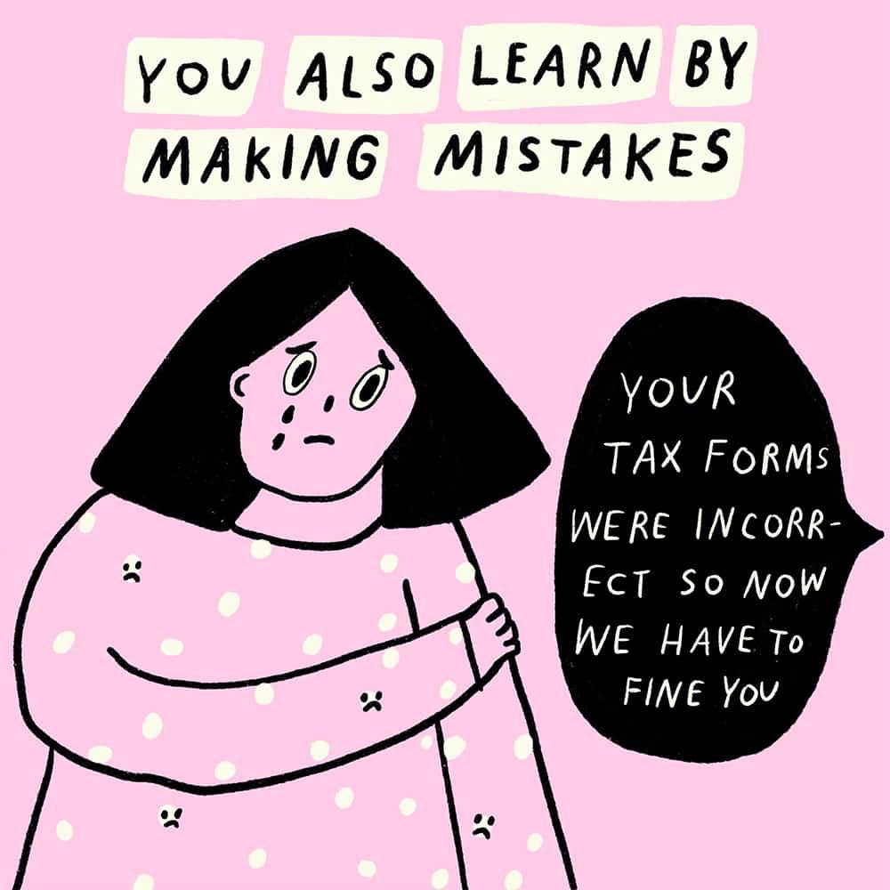 Small Kristen Barnhart Comic 2 Slide 4 Learning Is Fun As A Freelancer