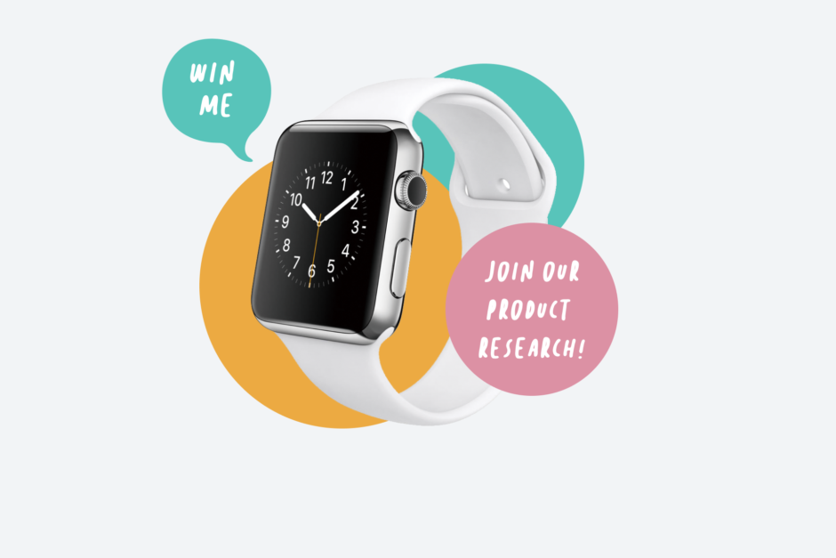 Win an Apple Watch when you join Hunderd5's product research