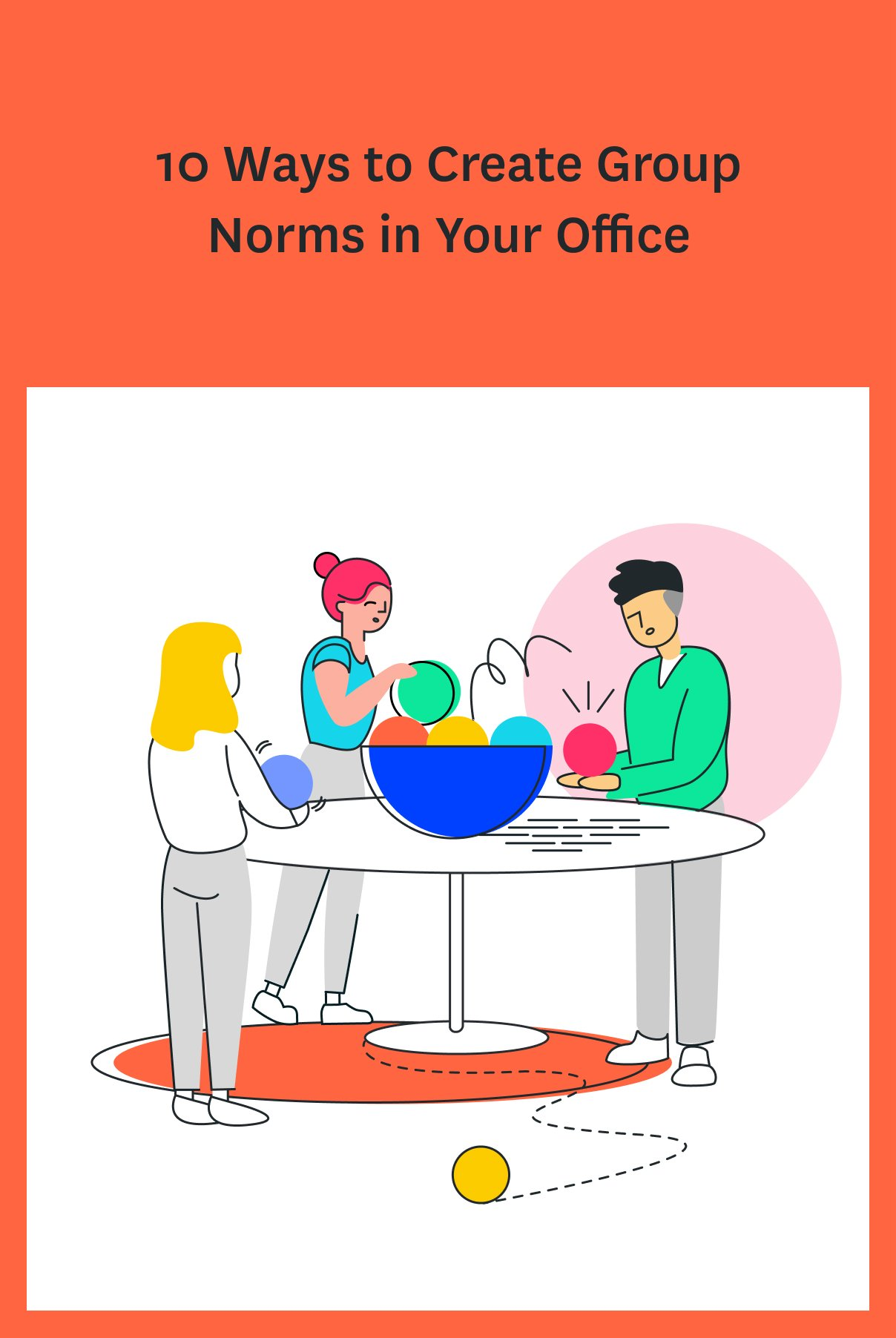 Setting group norms in your office will help people work better together. Here are some examples of group norms your team can try, plus tips for getting everyone on board. #team #teammanagement #leadership