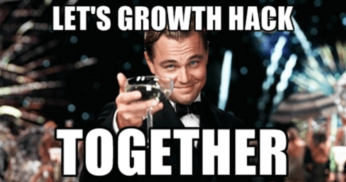 growth hack together meme