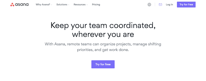 Asana - Sophisticated Project Management