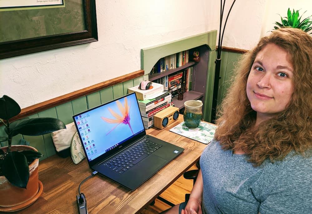Caitlyn Office With Caitlyn