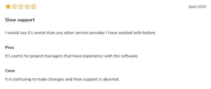 Asana SoftwareAdvice review