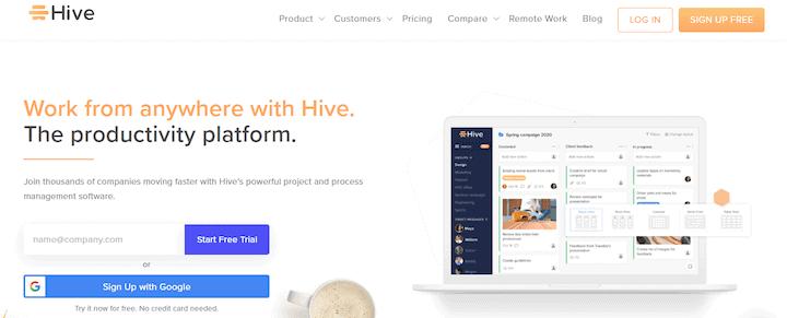 Hive - Asana alternative