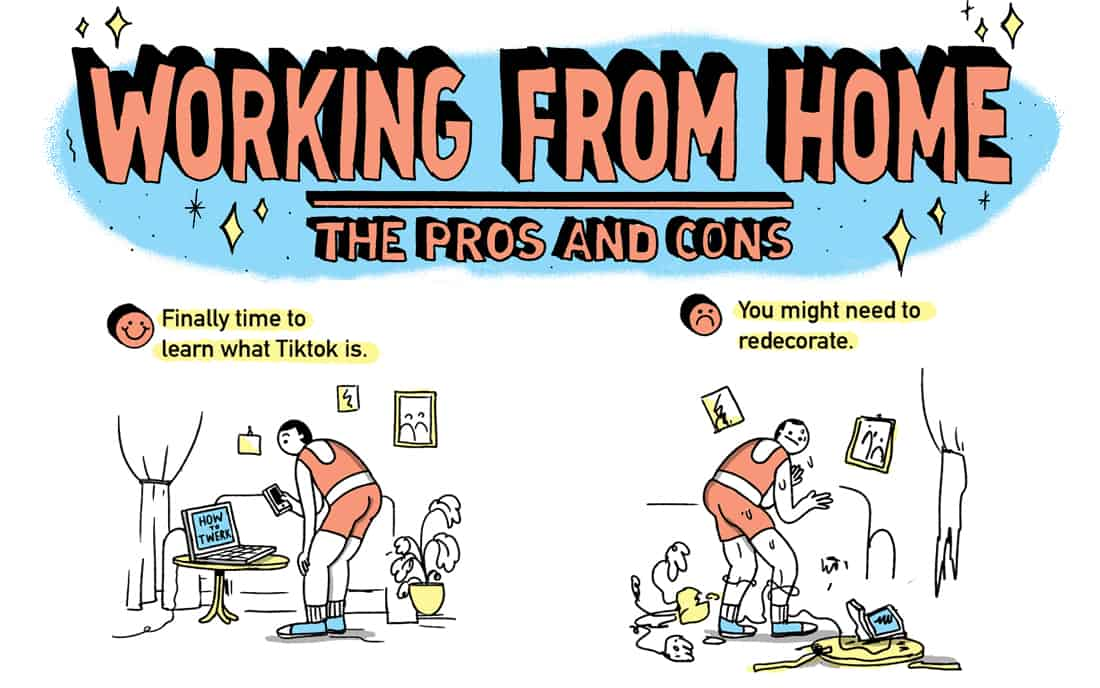 Working From Home The Good The Bad And What They Don T Tell You