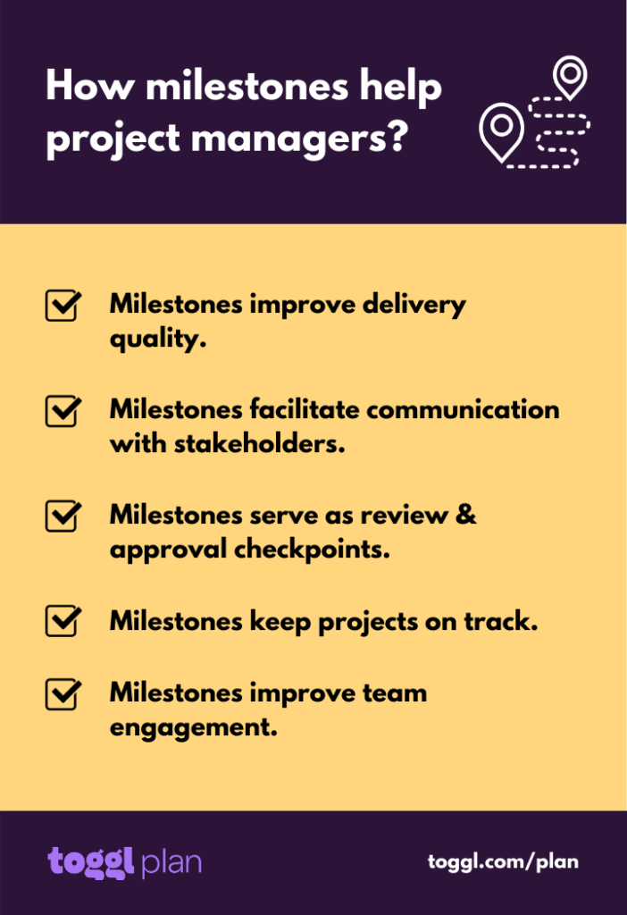 5 reasons why milestones are important for project success