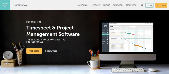 FunctionFox Timesheet & Project Management