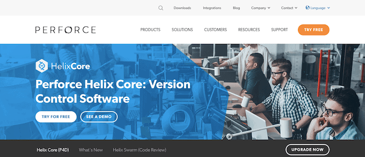 HelixCore - Lightweight Source Control Tool
