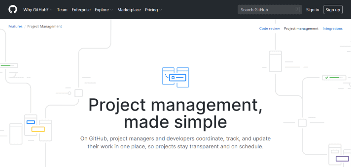 Github Project Management Tool For Programmers