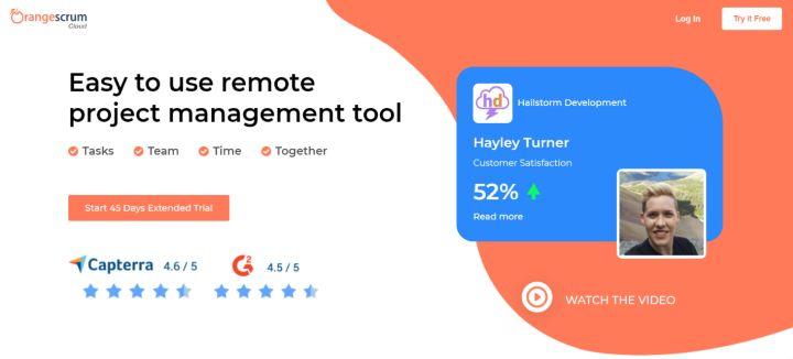 Orangescrum - Agile project management app