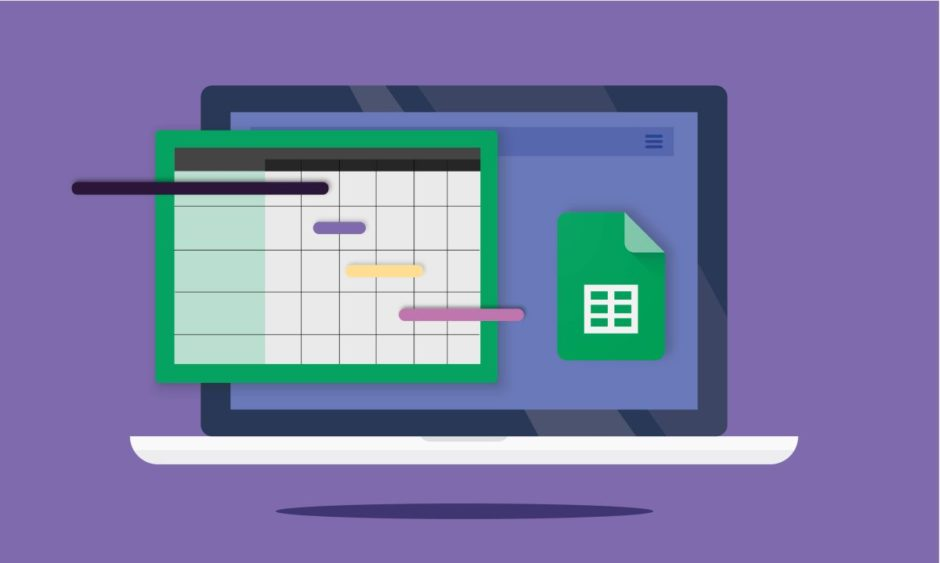 How to create a Gantt chart with Google Sheets?