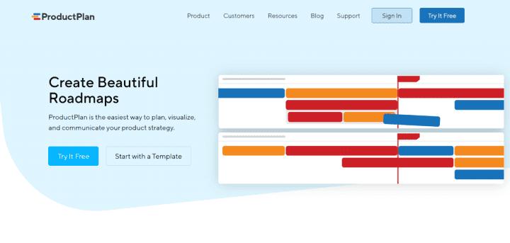 ProductPlan - Product roadmap tool