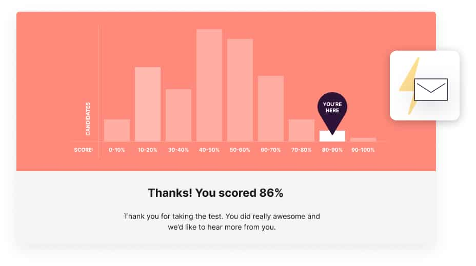 candidate feedback in Toggl Hire