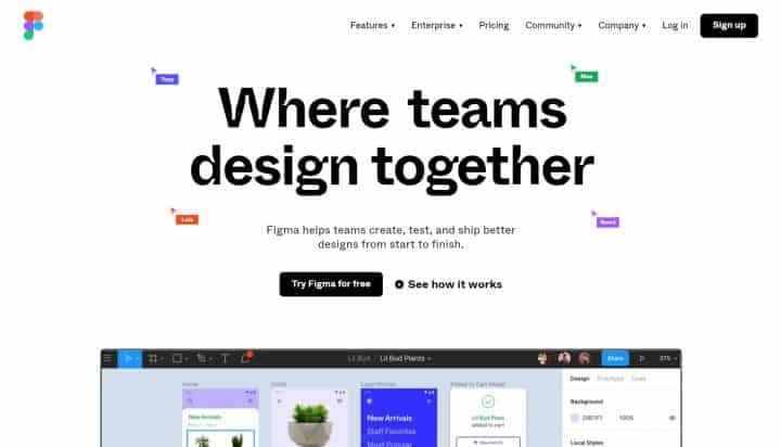 Figma - Collaborative Design Tool