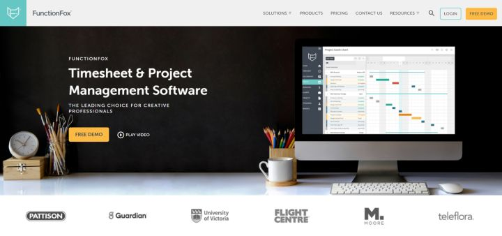 FunctionFox - Marketing Project Management Sofrware