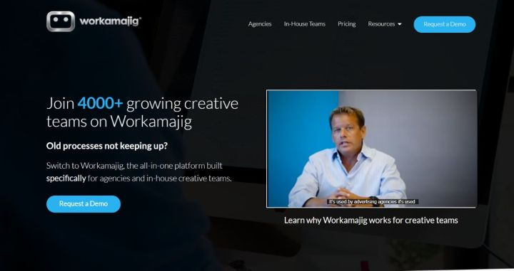 Workamajig - Project Management Software For Creative Teams