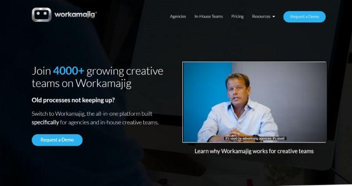 Workamajig - Marketing Project Management Software