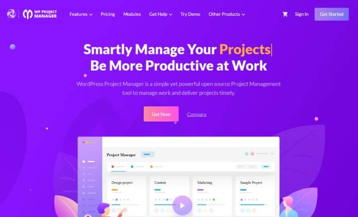 WordPress Project Management Software