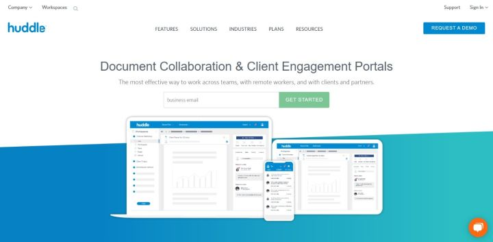 Huddle - Document Sharing and Client Engagement