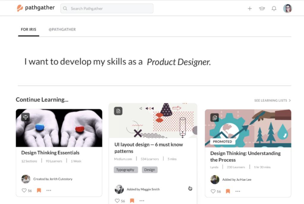 pathgather talent software platform