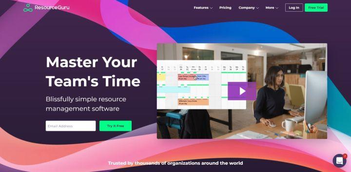 Resource Guru - Resource management software