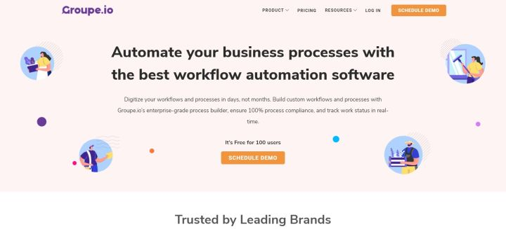 Groupe.io - Workflow Automation Software