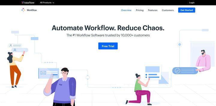 Kissflow - Workflow Automation Software