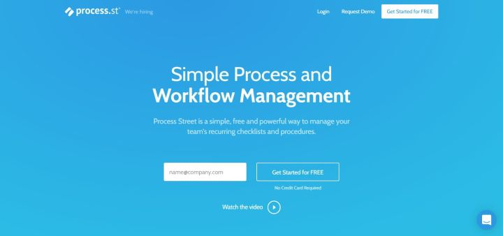 Process - Simple Process Workflow Management Software
