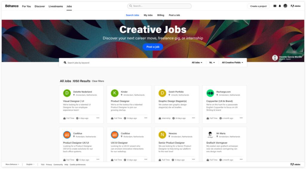 Best Freelancer Websites For Every Type Of Freelancer In 2021 Behance 1024x568