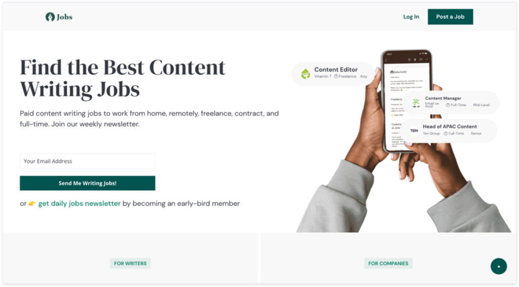 Best Freelancer Websites For Every Type Of Freelancer In 2021 Content Jobs 1024x567